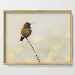 Hummingbird Serving Tray