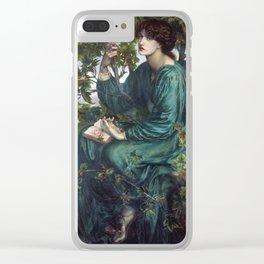 Dante Gabriel Rossetti - The Day Dream Clear iPhone Case