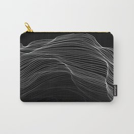 Fading Lines Carry-All Pouch