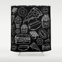 FOOD Duschvorhang