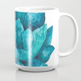 Turquoise echeveria succulent Coffee Mug
