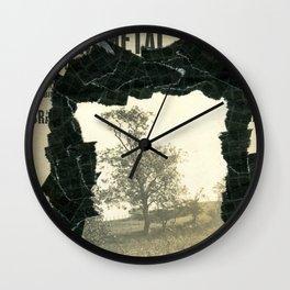 Dark Park Wall Clock