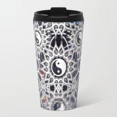 Yin Yang Symmetry Balance Reflection Travel Mug