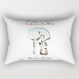 Charlie Mackesy Rectangular Pillow