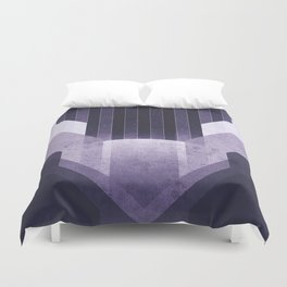 Dione - The Ice Cliffs Duvet Cover