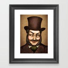 Monocle Framed Art Print