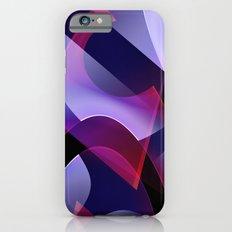 Pattern purple, pink, white iPhone 6s Slim Case