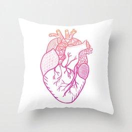 Designer Heart Throw Pillow