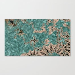Synchro Fractals Canvas Print