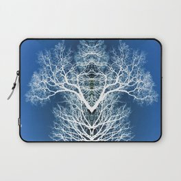 Silhouetted tree pattern Laptop Sleeve