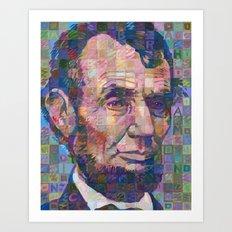 Abraham Lincoln No. 2 Art Print
