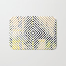 Sunday Morning - psychedelic graphic Bath Mat