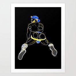 lonniedraws x matt salmon #2 Art Print