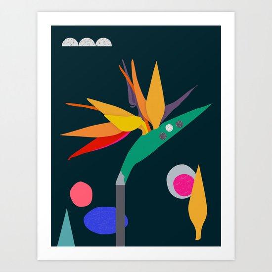 Take me to paradise. Please. Art Print