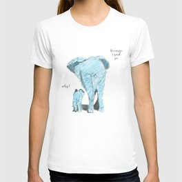 Mama elephant T-shirt