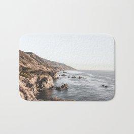Big Sur   Monterey California Surfers Paradise Ocean Beach Landscape Wanderlust Photograph Bath Mat