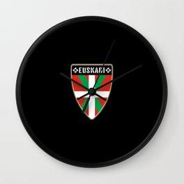 Euskadi Basque Country Wall Clock