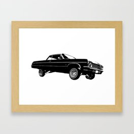 Low Ride On By Framed Art Print