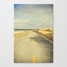 The Road to the Sea Canvas Print