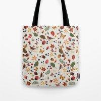 botanical Tote Bags featuring Botanical by Kakel