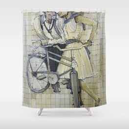 Time for Love Shower Curtain