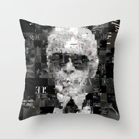 karl Throw Pillows featuring Karl Lagerfeld by Artstiles