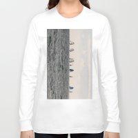 sailing Long Sleeve T-shirts featuring sailing by habish