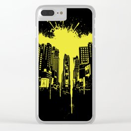 Times squash Clear iPhone Case