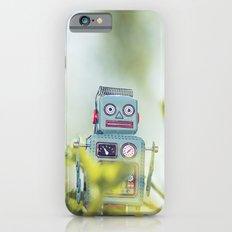Robot in Nature iPhone 6s Slim Case
