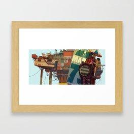 0_R Framed Art Print