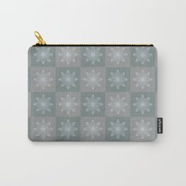 Lotos pattern Carry-All Pouch