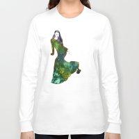 dress Long Sleeve T-shirts featuring Favorite Dress by Stevyn Llewellyn