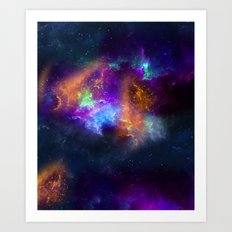Spaceology Art Print