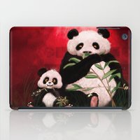pandas iPad Cases featuring Pandas by J ō v