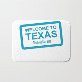 Welcome To Texas Bath Mat