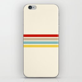Brazilian Retro Stripes iPhone Skin