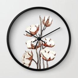 cotton Wall Clock