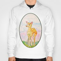 fawn Hoodies featuring FAWN by Jane Aviv Brenner