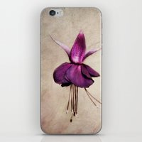 ballerina iPhone & iPod Skins featuring ballerina by lucyliu
