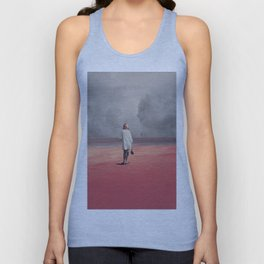 Watching you Leave me. Didn't want to Unisex Tanktop