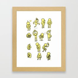 lil busy Framed Art Print