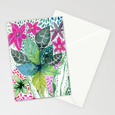 Leafy Tropical Stationery Cards