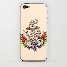 Be Your Own Anchor - Teen Wolf iPhone & iPod Skin