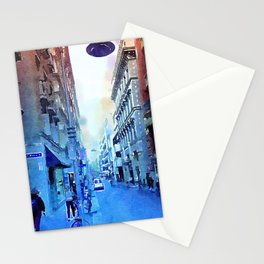 Melbourne, Rhapsody in Blue Stationery Cards