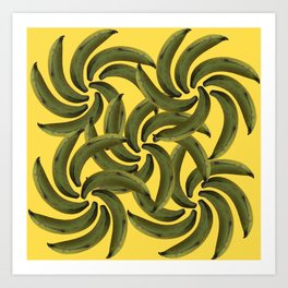 Platano Verde / Green Plantain Art Print
