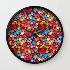 A Handful of Candy Wall Clock
