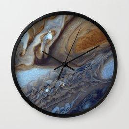 Jupiter's Red Spot Wall Clock