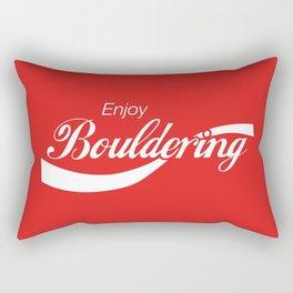 Enjoy Bouldering Rectangular Pillow