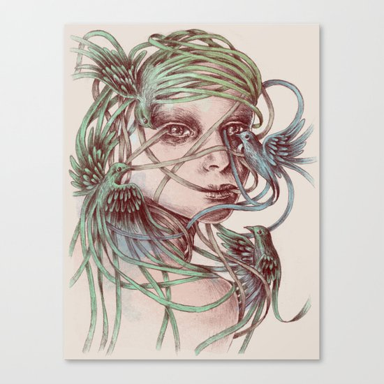Beautiful Creatures Canvas Print