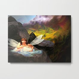 Fairy mountain Metal Print